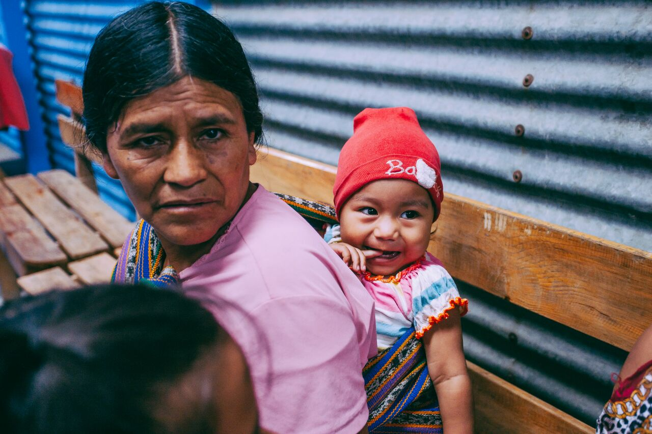 Guatemalan mother and daughter