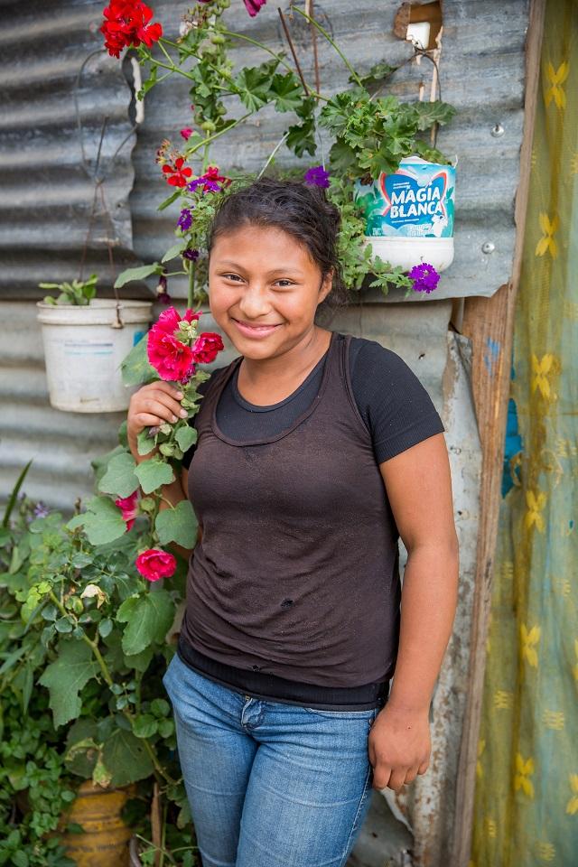 Guatemalan child in the Beleive Guatemala sponsorship program