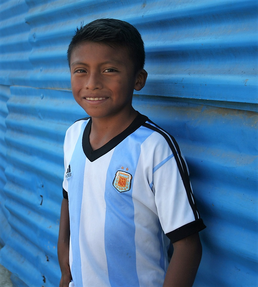 Guatemalan child in the Beleive Guatemala sponsorship program