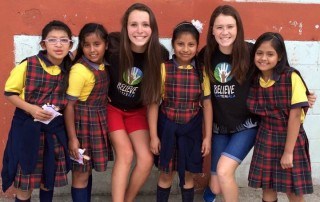 A nearby school who partners with Believe Guatemala