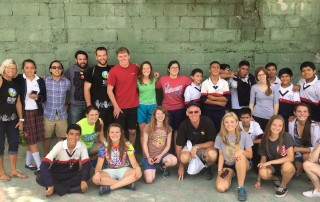 Students at a local Guatemala school visited by mission team